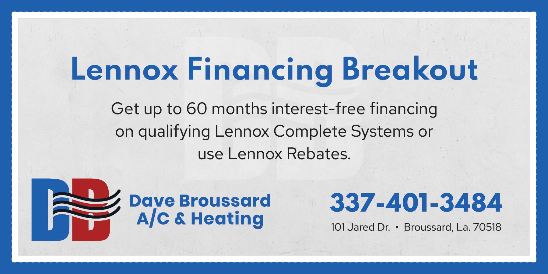 DAV-Coupon-Lennox-Financing